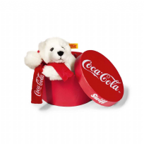 Coca-Cola polar bear in box
